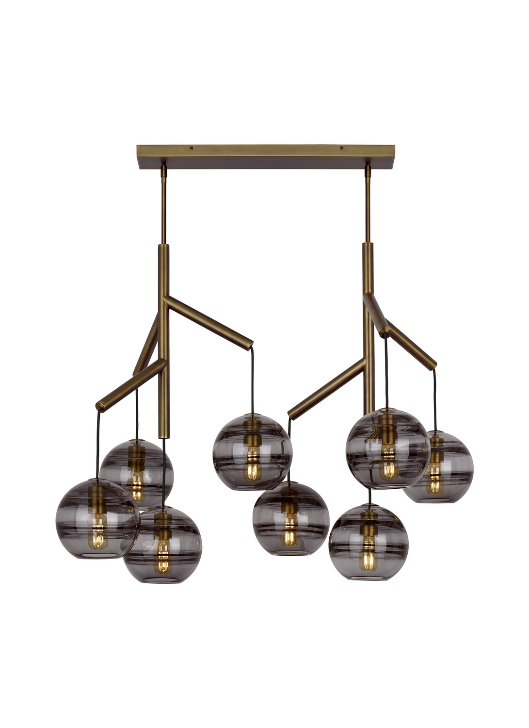 Chandelier from the Sedona collection by Tech Lighting 700SDNMPL2KR