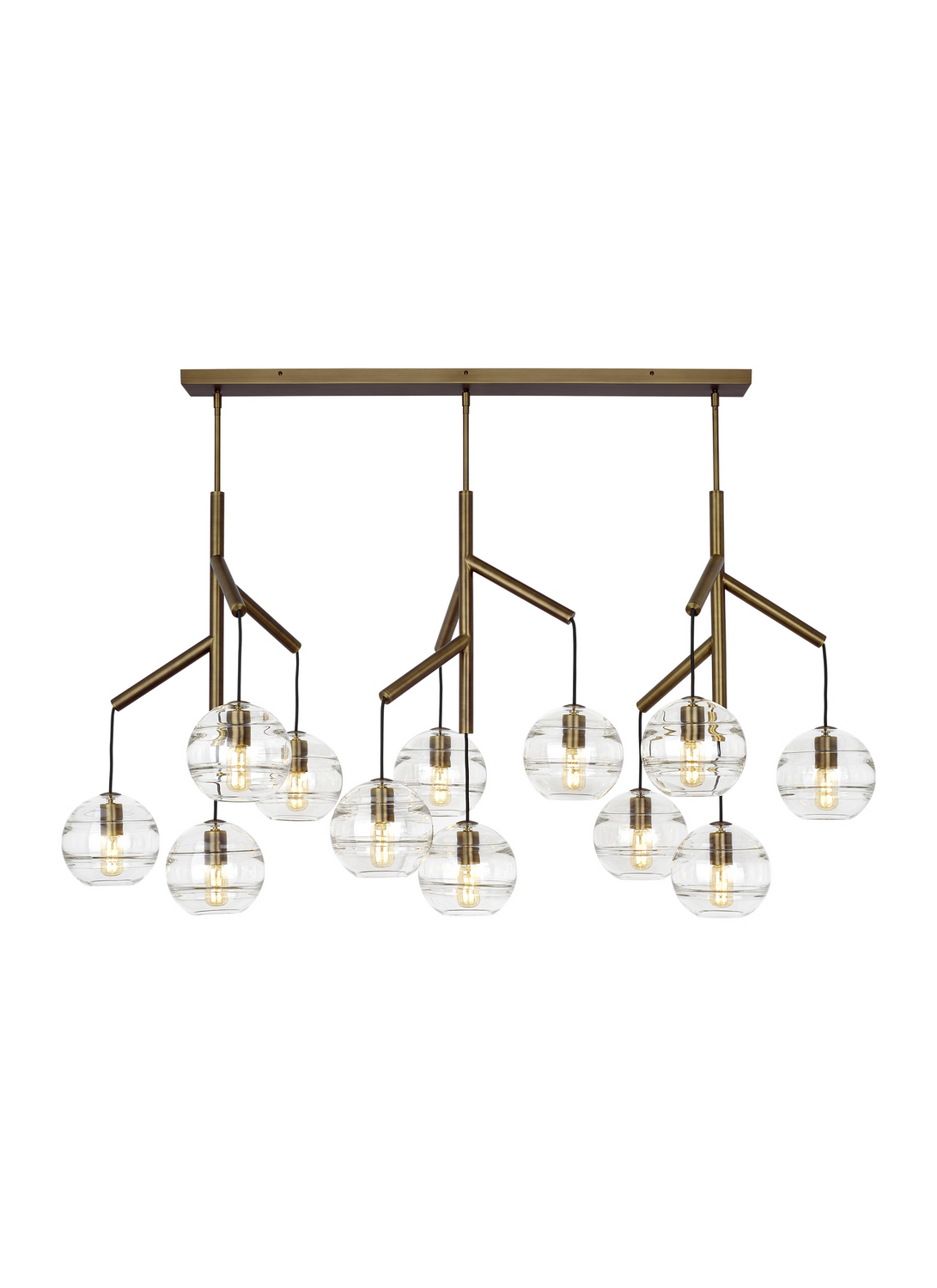 Chandelier from the Sedona collection by Tech Lighting 700SDNMPL3CR