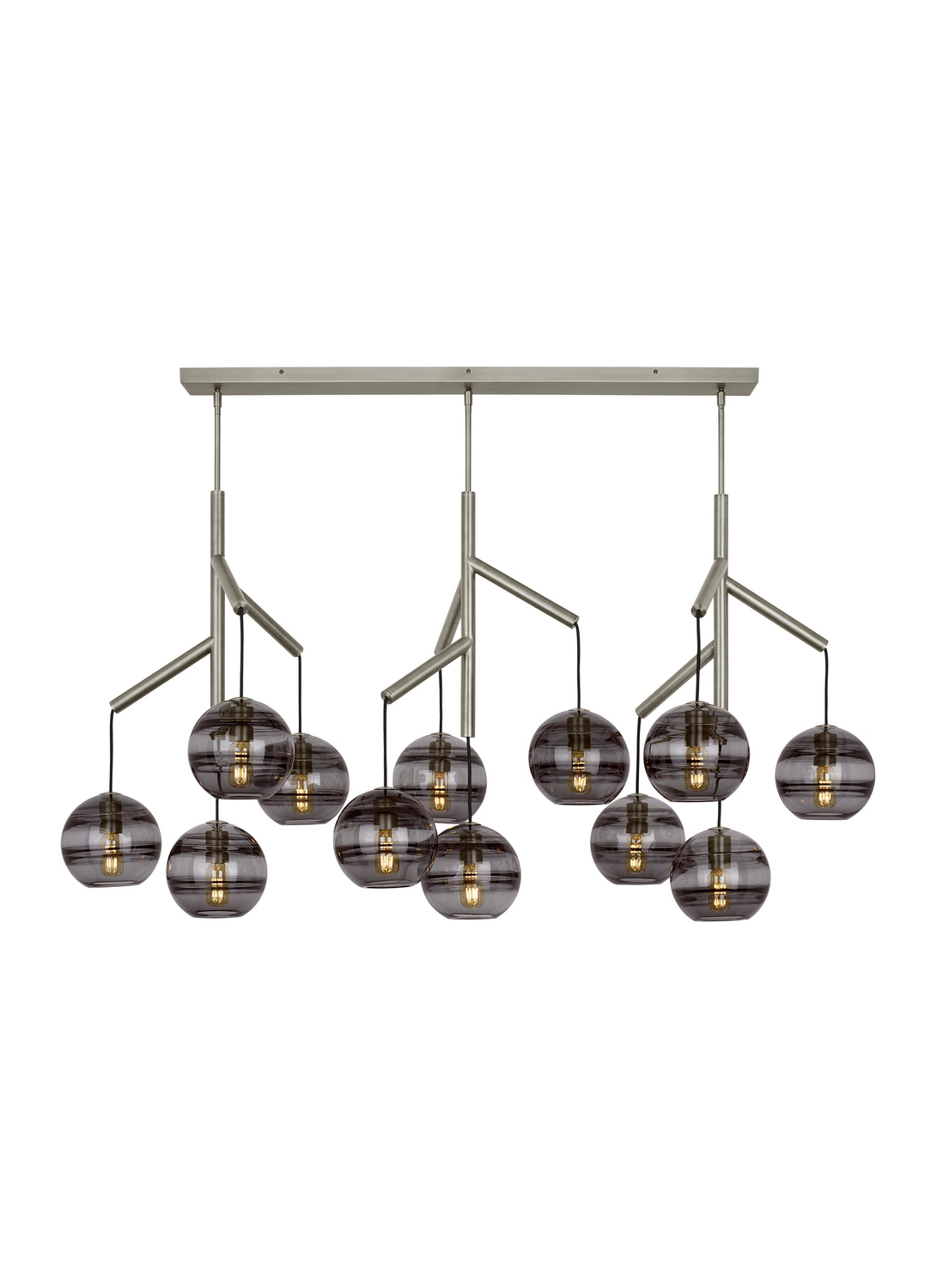 Chandelier from the Sedona collection by Tech Lighting 700SDNMPL3KS