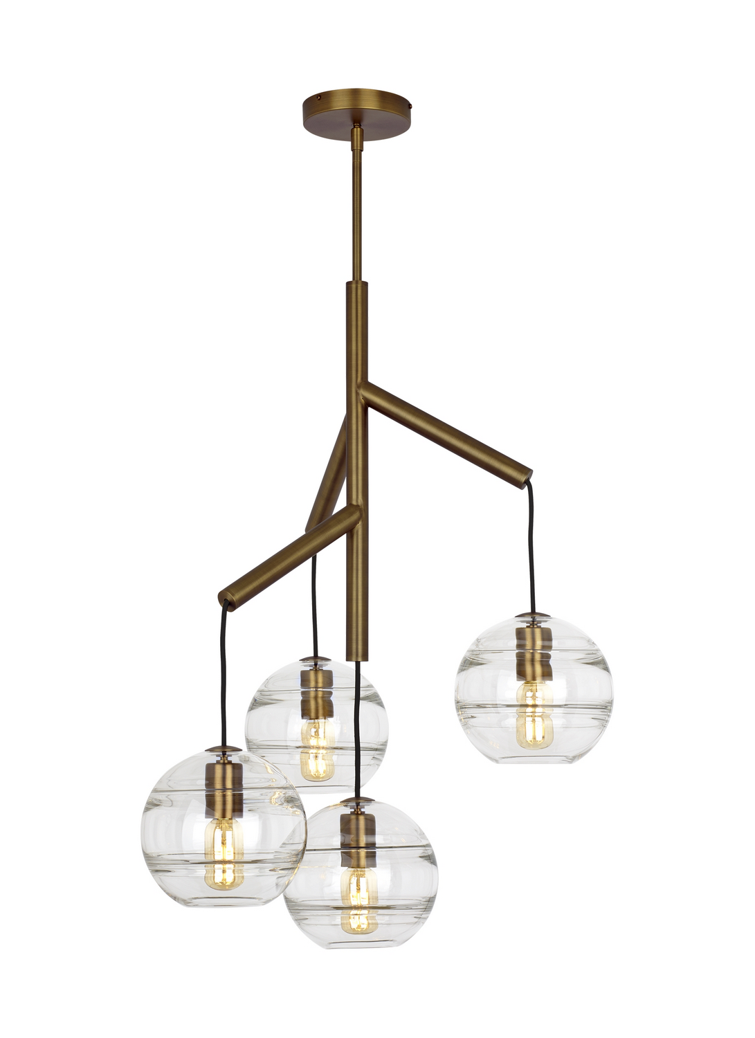 Chandelier from the Sedona collection by Tech Lighting 700SDNMPR1CR