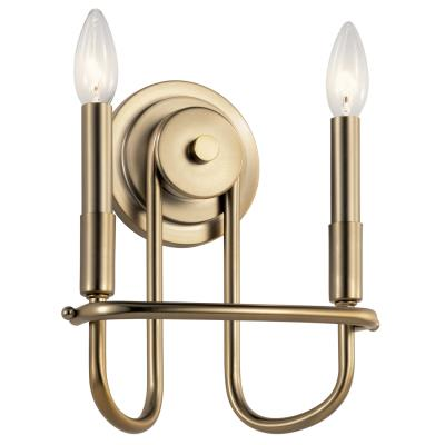Sconces Double Candle Double Glass Bowling Green Winlectric