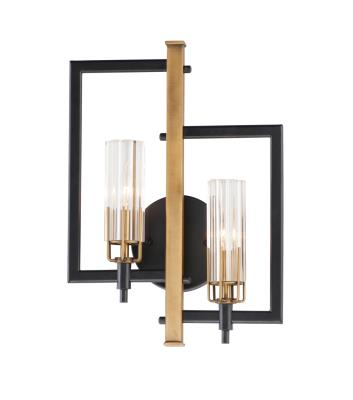 Sconces Double Candle Double Glass Universal Lights