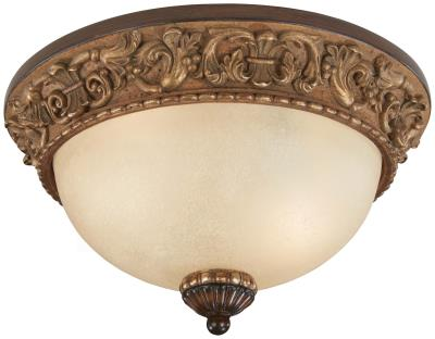 Minka Lavery   958 126   Belcaro   Two Light Flush Mount   Belcaro