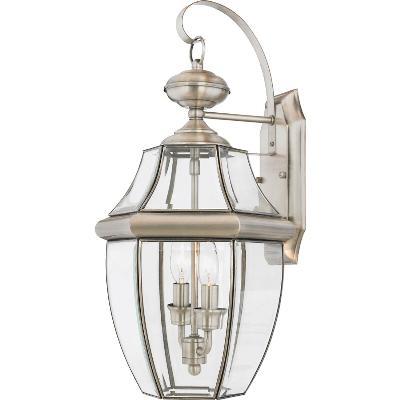 Quoizel Newbury Two Light Outdoor Wall Lantern