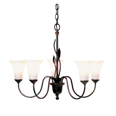 Hubbardton Forge Forged Five Light Chandelier
