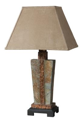 Uttermost   26322 1   Slate   One Light Table Lamp   Slate W/