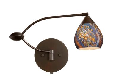 Besa Tay Tay One Light Swing Arm Wall Sconce