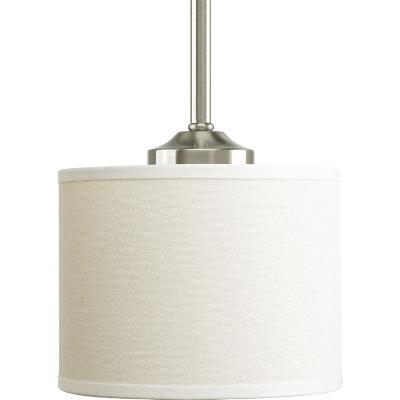 ... Progress Lighting - P5065-09 - One Light Mini Pendant - Brushed Nickel  sc 1 st  Magnolia Lighting & Magnolia Lighting