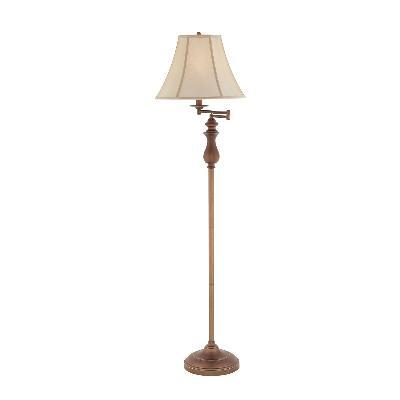 Quoizel q1056fpn quoizel portable lamp one light floor lamp palladian bronze