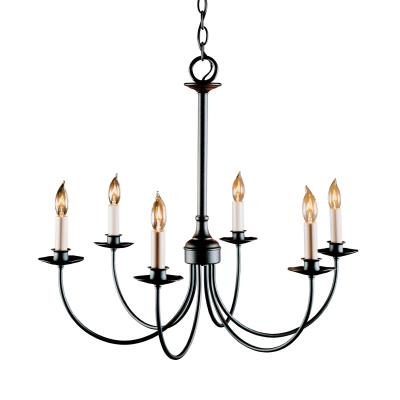 Hubbardton Forge Simple Six Light Chandelier