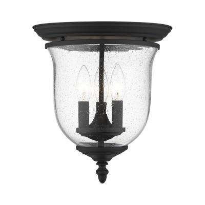 Livex Lighting 5025-07 Legacy 3-Light Hanging Lantern Bronze