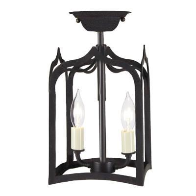 ... JVI Designs - 3000-26  sc 1 st  Filament Lighting & Filament Lighting - JVI Designs - 3000-26 - Two Light Semi Flush Mount