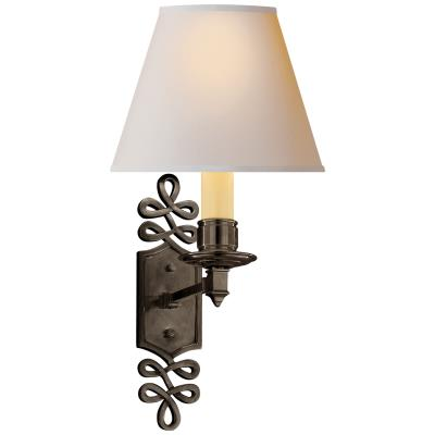 Visual Comfort Ginger One Light Wall Sconce