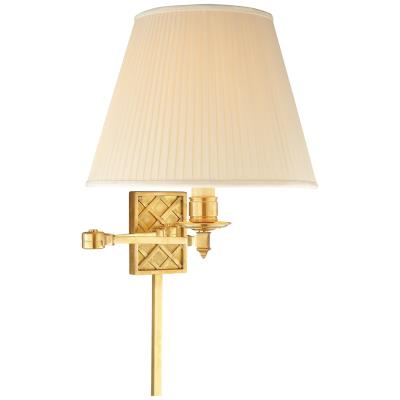 Visual Comfort Gene One Light Swing Arm Wall Lamp