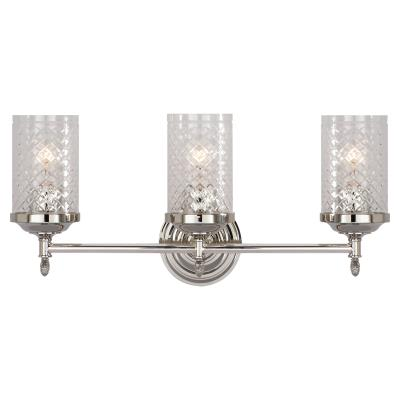 Visual Comfort Lita Three Light Wall Sconce