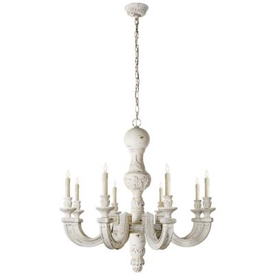 Visual Comfort Dexter Eight Light Chandelier