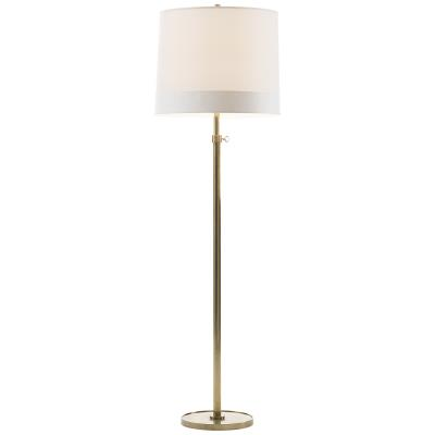 Visual Comfort Simple Scallop One Light Floor Lamp