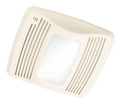 broan-nutone - qtxe110sflt - ultra silent - humidity sensing  fan/light/nightlight