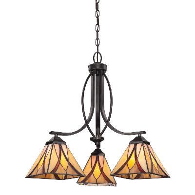 Quoizel Asheville Three Light Chandelier