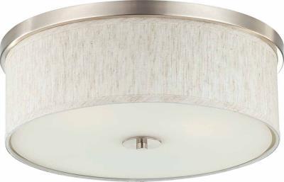 V0039-40 Ecru Linen Volume Lighting
