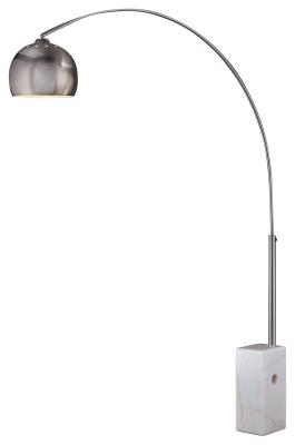 George Kovacs George`S Reading Room One Light Arc Floor Lamp