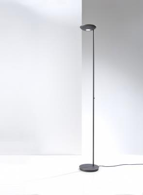 Holtkotter 2625led Hbob Led Raumfluter Torchiere Floor Lamp Hand Brushed Old Bronze