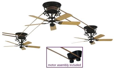 barre electric Brewmaster Ceiling Fans