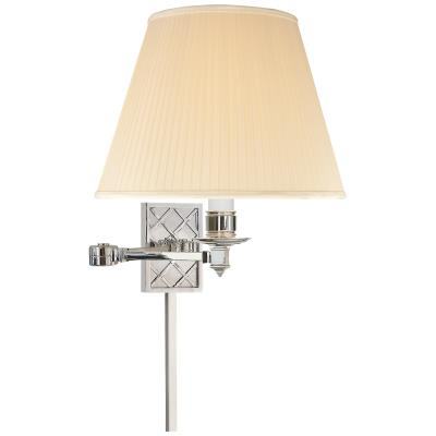 Visual Comfort Gene One Light Swing Arm Wall Lamp