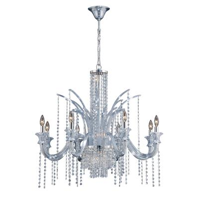 Watts current 14 light chandelier chrome mozeypictures Images