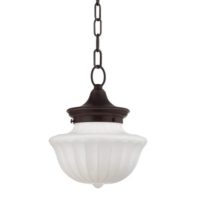 Hudson valley 5009 ob one light pendant old bronze
