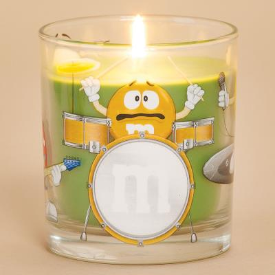 DecoGlow M/&M Party Candle