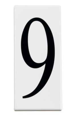 754487534bfa Kichler - 4309 - Accessory - Number 9 Panel - White Material