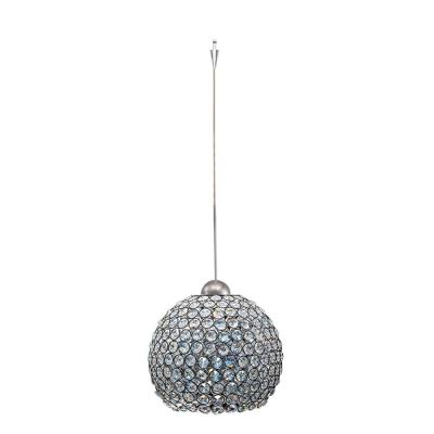 W a c lighting qp335 cl bn crystal pendant with socket sets