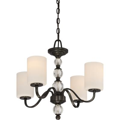 Quoizel - DW5004D Quoizel - DW5004D  sc 1 st  Hite Lighting & Hite Lighting - Mid. Chandeliers - Glass Up - Four Light Chandelier ...