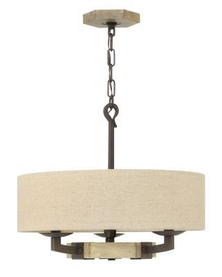 Candelabra hinkley 3913ir wyatt three light foyer pendant iron rust