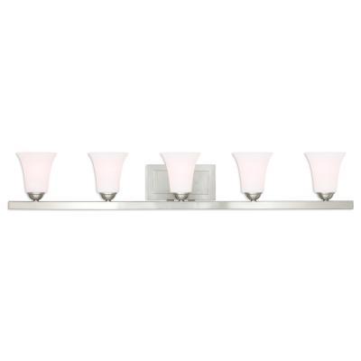 Above And Beyond Lighting - Five light bathroom vanity light