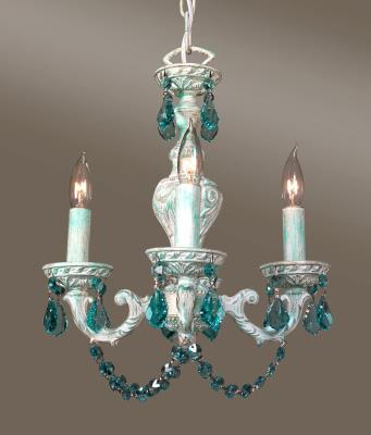 Wage lighting four light mini chandelier green over antique white mozeypictures Gallery