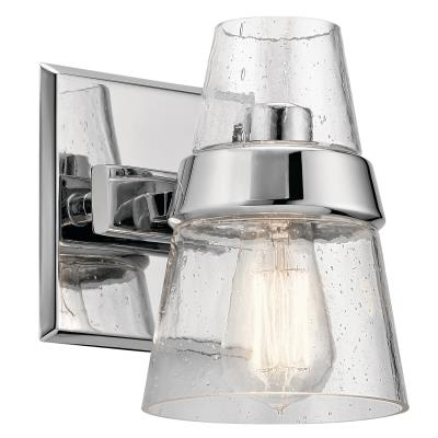 chuckanut lighting. Kichler - 45395CH One Light Wall Sconce Chrome Chuckanut Lighting P
