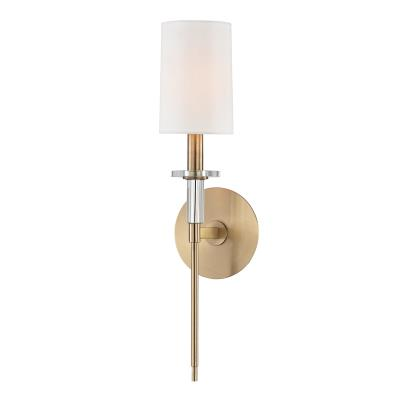 8511 Agb Amherst One Light Wall Sconce Aged Br
