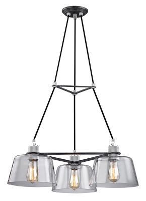 chuckanut lighting. Troy Lighting - F6153 Three Light Chandelier Old Silver /Polished  Aluminum Chuckanut Lighting