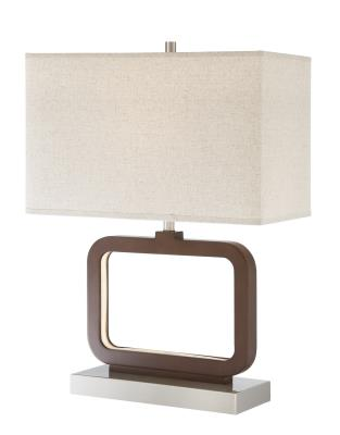 ... Lite Source   LS 23021   One Light Table Lamp W/LED Night