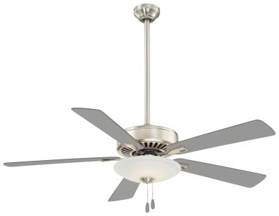 Wilson lighting contractor uni pack led 52ceiling fan polished nickel mozeypictures Choice Image