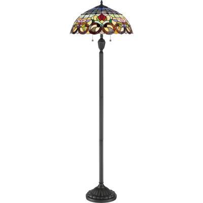 Magnolia lighting two light floor lamp vintage bronze aloadofball Choice Image
