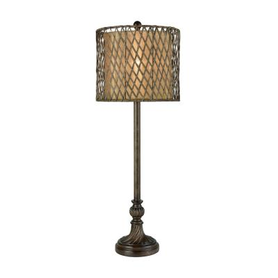 Lamp shade works buffet lamp brown aloadofball Gallery