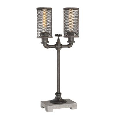 Quoizel q3322t quoizel portable lamp two light table lamp sampled