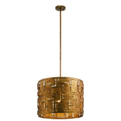 Kichler 44155pg shefali four light pendant pharaoh gold