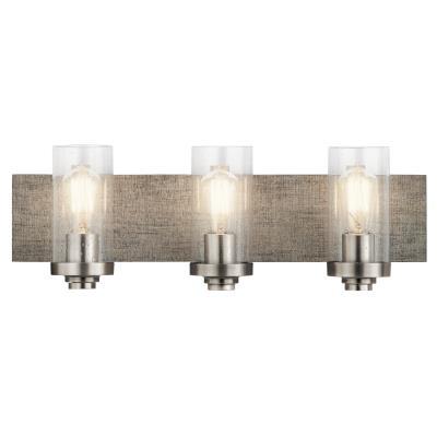 Kichler - 45928CLP - Dalwood - Three Light Bath - Classic Pewter  sc 1 st  Metro Lighting & Metro Lighting
