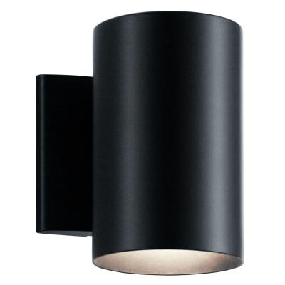 Kichler 9234bk no family one light outdoor wall mount black