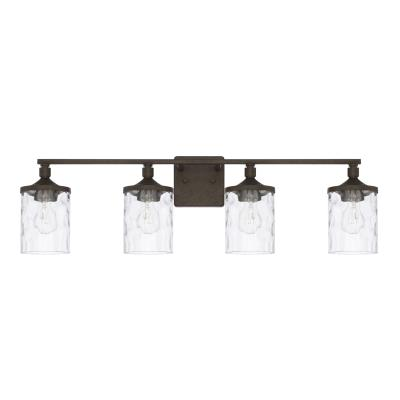 Capital lighting 128841ub 451 four light vanity fixture urban brown
