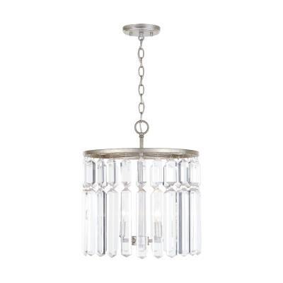 Capital lighting 225341as four light semi flush mount antique silver